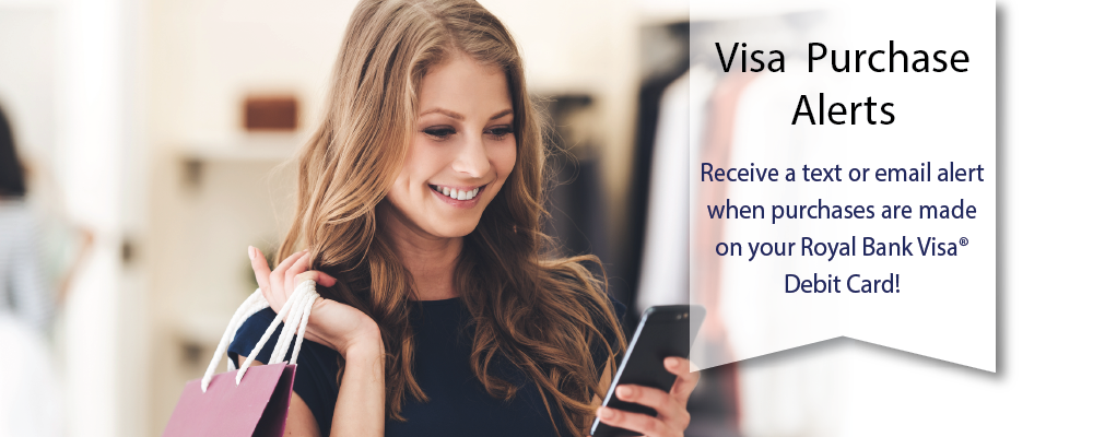 Take control of your money with Visa Purchase Alerts